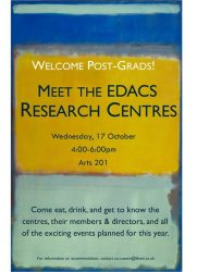 17 October: Research Centre Fair