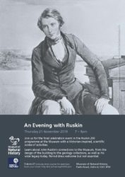 21 November: An Evening with Ruskin