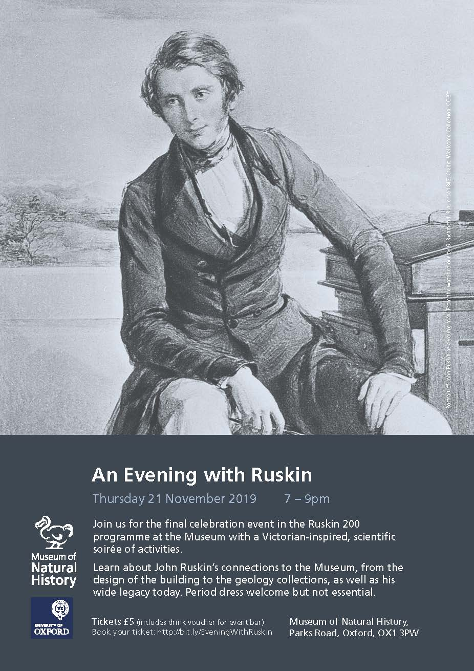 Poster for An Evening with Ruskin