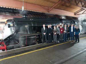 RailSoc members' visit to Vintage Trains