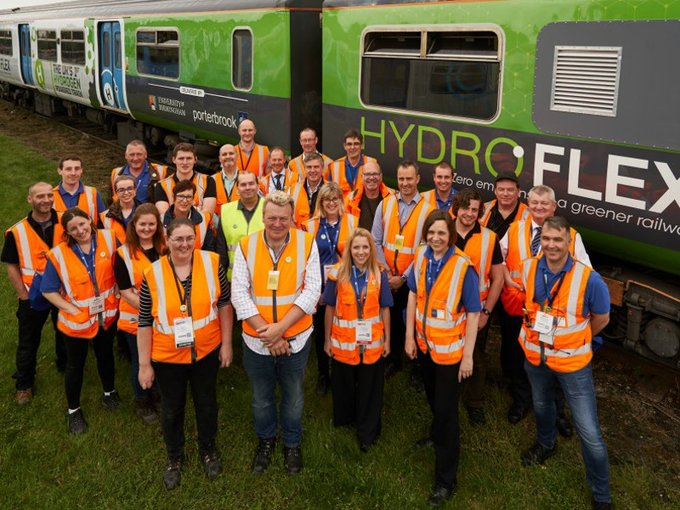 The HydroFLEX team at Rail Live 2019