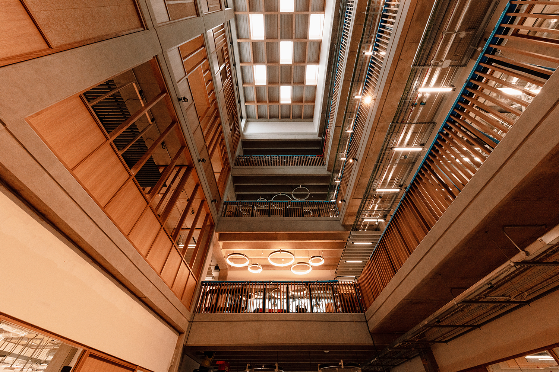 Interior of UKRRIN building
