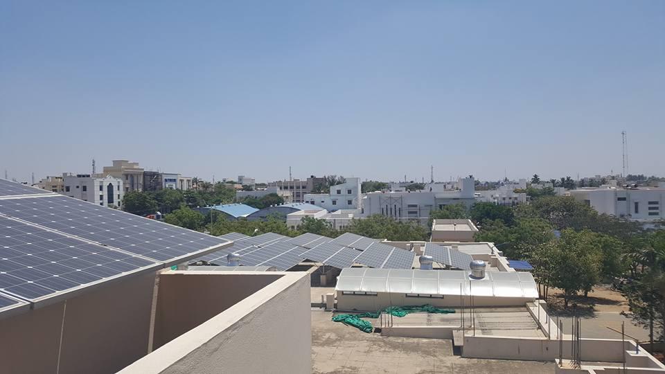 A garment factory in Tirupur that runs on 100% solar energy