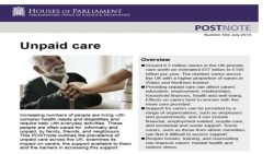 New POSTnote on Unpaid Care
