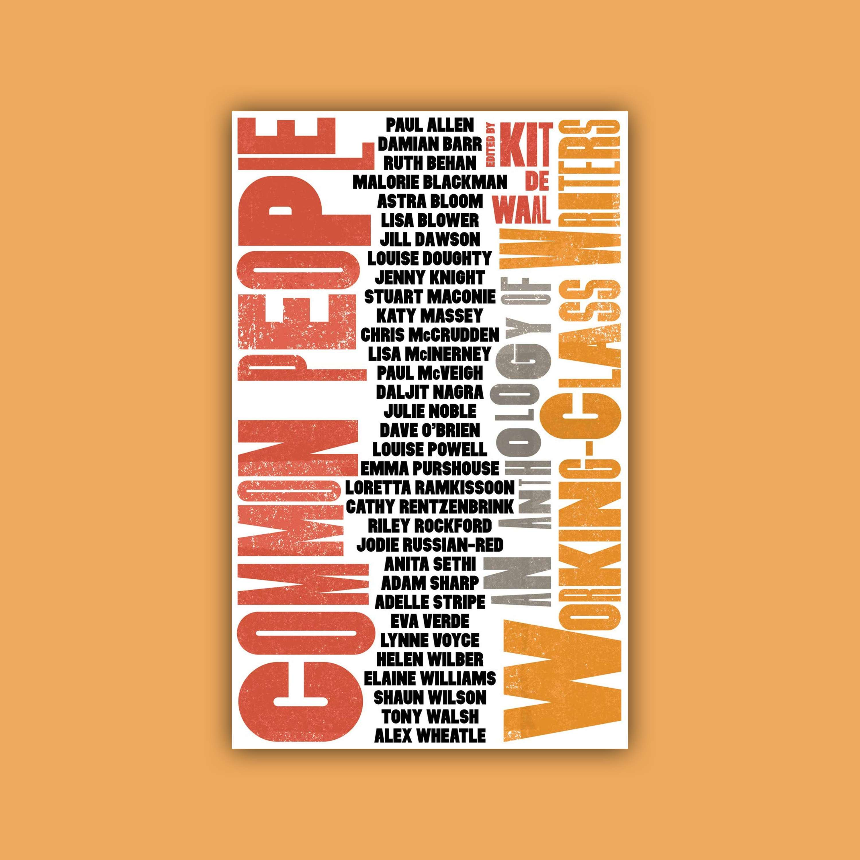 'Common People: An Anthology of Working-Class Writers': Birmingham Literature Festival 2019 (10/10/2019)