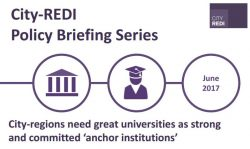 City-regions need great universities as strong and committed 'anchor institutions'