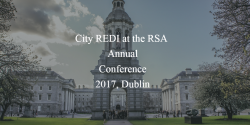 City REDI at the RSA Annual Conference 2017, Dublin