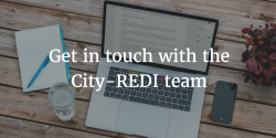 Get in touch with the City-REDI team