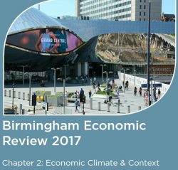 The Birmingham Economic Review 2017 – Economic climate and context for Birmingham