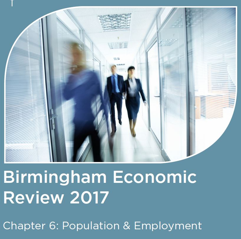 The Birmingham Economic Review 2017 Population And Employment City Redi Blog