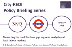 Measuring the qualifications gap: regional analysis and local labour markets