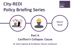 Part A: The Causes of Carillion's Collapse