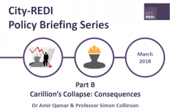 Part B: The Consequences of Carillion's Collapse