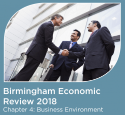 The Birmingham Economic Review 2018: Business Environment