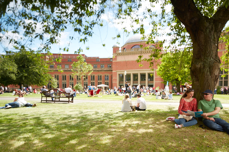 An image of the University of Birmingham - one of the 55 universities to sign the Civic University Agreement