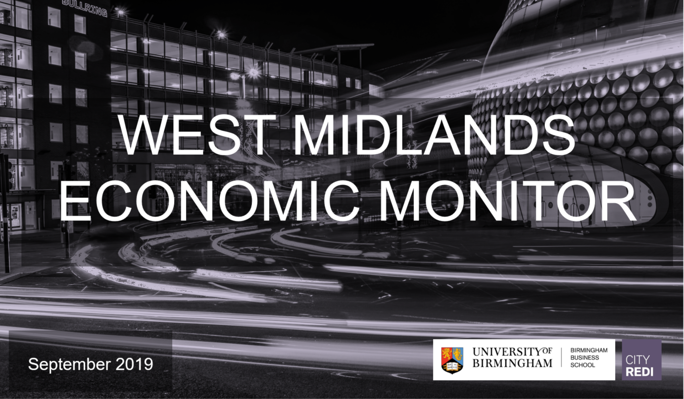 West Midlands Economic Monitor: September 2019