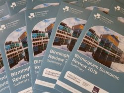 Launch of the Birmingham Economic Review 2019