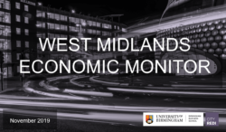 West Midlands Economic Monitor: November 2019