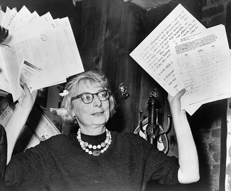 """Jane Jacobs, author of """"The Death and Life of Great American Cities""""."""