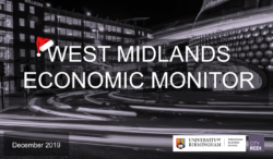 West Midlands Economic Monitor: December 2019