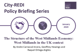 The Structure of the West Midlands Economy: West Midlands in the UK context