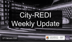 City-REDI Weekly Update – 13th February 2020