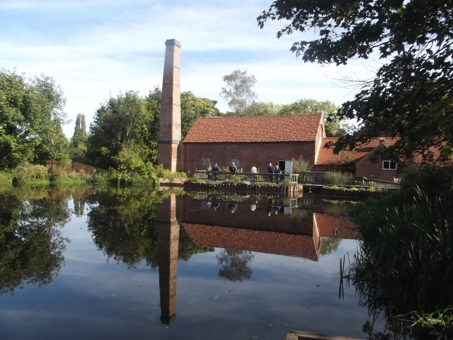 An images of Sarehole Mill in Birmingham - inspiration for the Mill in Hobbiton in JRR Tolkien's Lord of the Rings