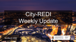 City-REDI Weekly Update – 5th March 2020