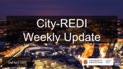 City-REDI Weekly Update – 2nd April 2020