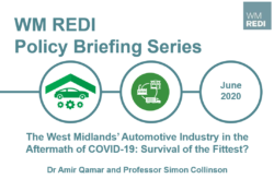 Policy Briefing: The West Midlands' Automotive Industry in the Aftermath of COVID-19: Survival of the Fittest?