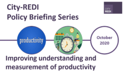 City-REDI Policy Briefing: Improving Understanding and Measurement of Productivity