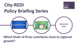 City-REDI Policy Briefing: Which Kinds of Firms Contribute Most to Regional Growth?