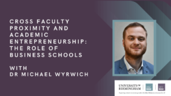 Cross Faculty Proximity and Academic Entrepreneurship: The Role of Business Schools