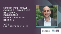 Socio-Political Consequences of Regional Economic Divergence in Britain: 1983-2018