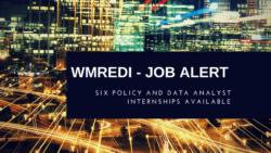 WMREDI Policy & Data Analyst Internships – Apply Now
