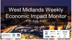 West Midlands Weekly Economic Impact Monitor – 11th June 2021