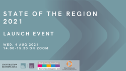 Event: Launch of the State of the Region 2021 – 4th August 2021, 14:00 – 15:30