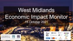 West Midlands Economic Impact Monitor – 15 October 2021