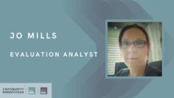 Meet Jo Mills, WMREDI's New Evaluation Analyst
