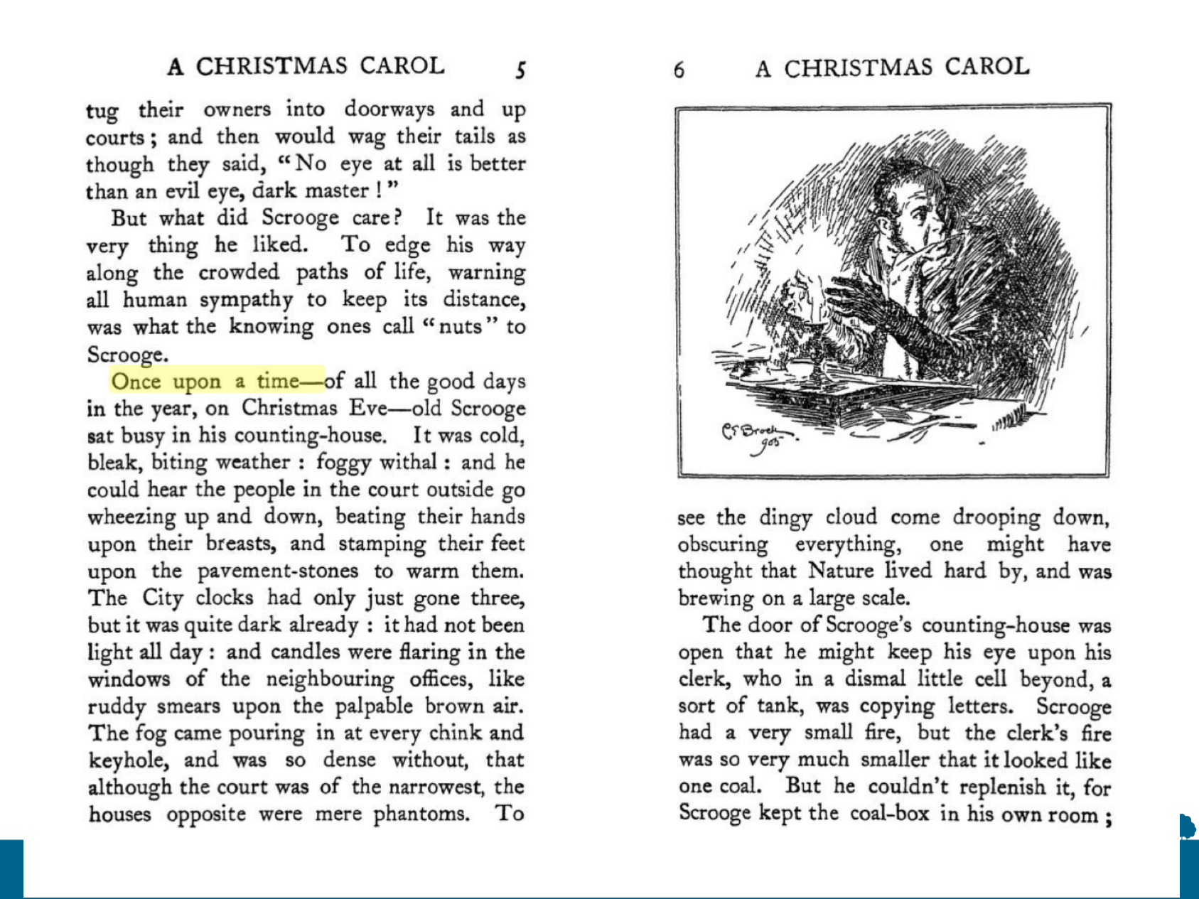 Finding links between the structure and themes of A Christmas Carol – CLiC Fiction