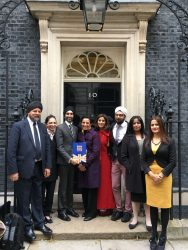 The debut of the British Sikh Report at 10 Downing Street