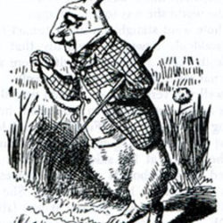 I'm late, I'm late, for a very important date – Bicentenary of the birth of Sir John Tenniel, illustrator of Lewis Carroll's Alice in Wonderland