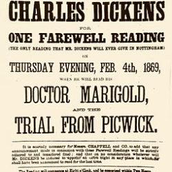 Charles Dickens anniversary