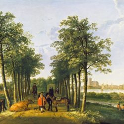 400th anniversary of the birth of Aelbert Cuyp, Dutch landscape painter