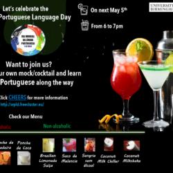 World Portuguese Language Day – make mocktails and cocktails!