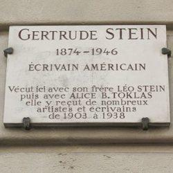 Gertrude Stein 75th anniversary