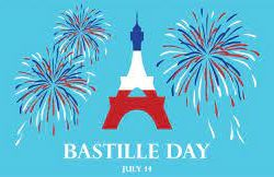 Bastille Day – le quatorze juillet
