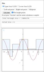 Riemann Sums App