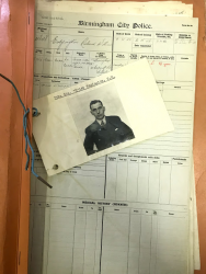 Honour in the Police Archives (by Jack Scates)