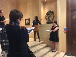 Lightning Talks at the Barber Institute of Fine Arts (by Mymona Bibi)